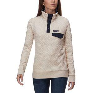 Patagonia Cotton Quilt Snap Pullover Sweatshirt